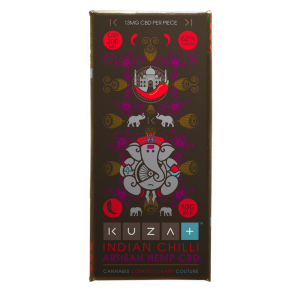 Buy 62% Grenadian Dark Chocolate with India Chilli | 200mg CBD Online