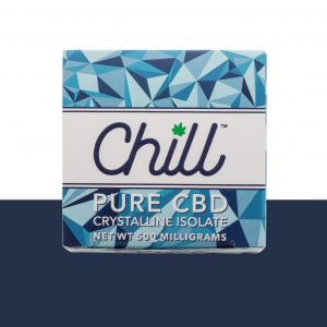 Buy Chill 500mg Pure CBD Crystalline online