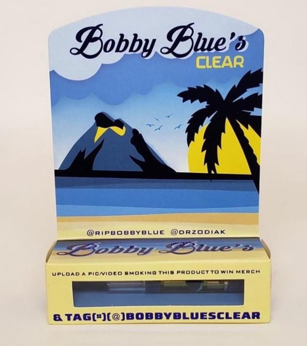 Bobby blue's clear carts