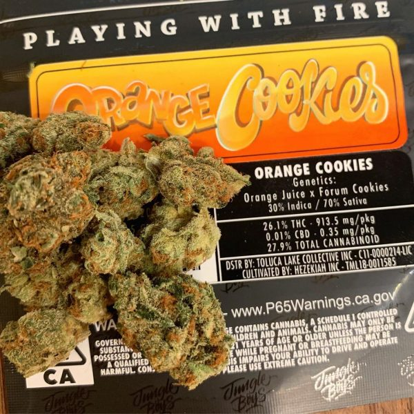 Orange Cookies Jungleboys