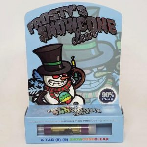 Frosty's snowcone clear carts